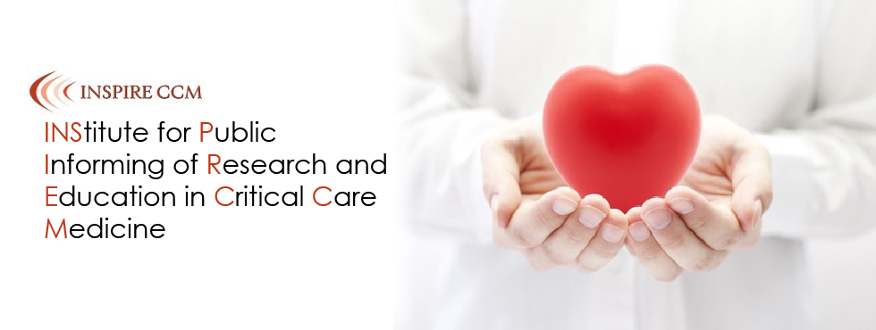 INSPIRE CCM was formed to raise public awareness about the practice of Critical Care Medicine.