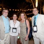 With Dr. Michael Pinsky, Janis Pinsky and Dr. Reza Hashemian at SCCM gathering in San Juan, Puerto Rico