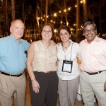 With Dr. Srinivas Murali, Dr. Marie Baldisseri and her dad at SCCM gathering in San Juan, Puerto Rico